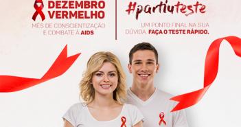 Dezembro Vermelho: Dia Mundial de Luta contra a AIDS